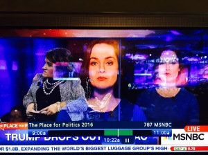 Screen Shot of Cable News